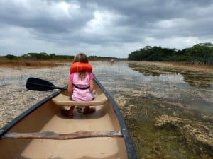 Kanotrip in de Everglades: 9 Mile Pond Canoe Trail