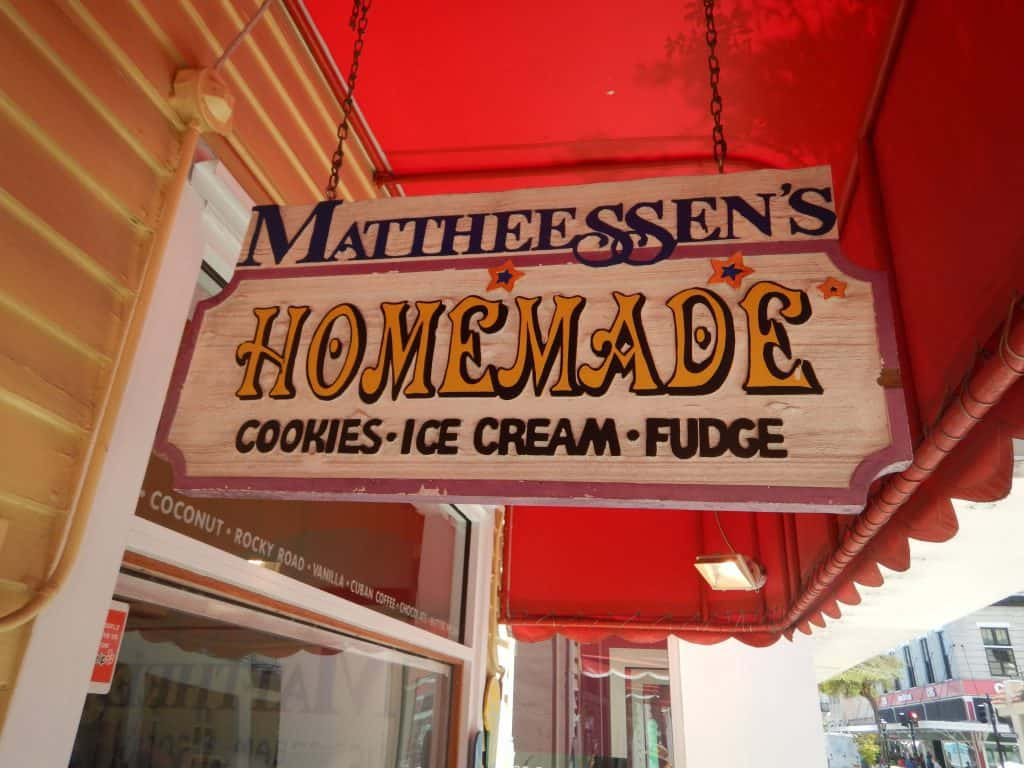 Homemade ice cream - Mattheessen's