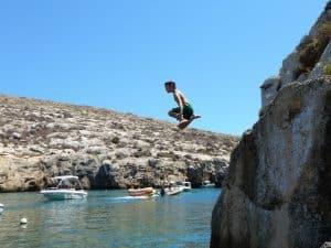 Mgarr ix-Xini jump