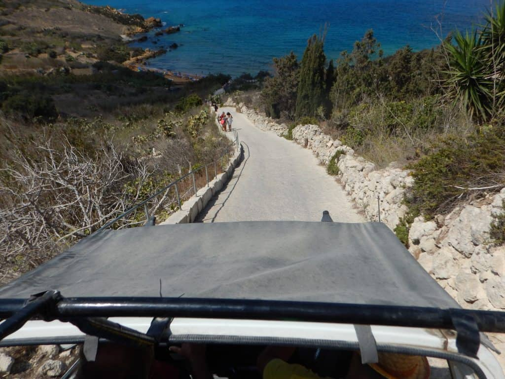 San Blas Beach Jeep Gozo