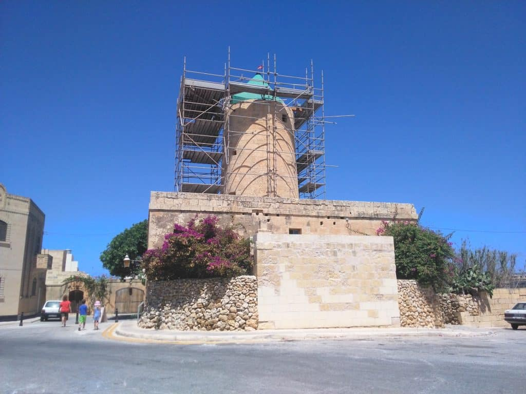 Gozo windmolen