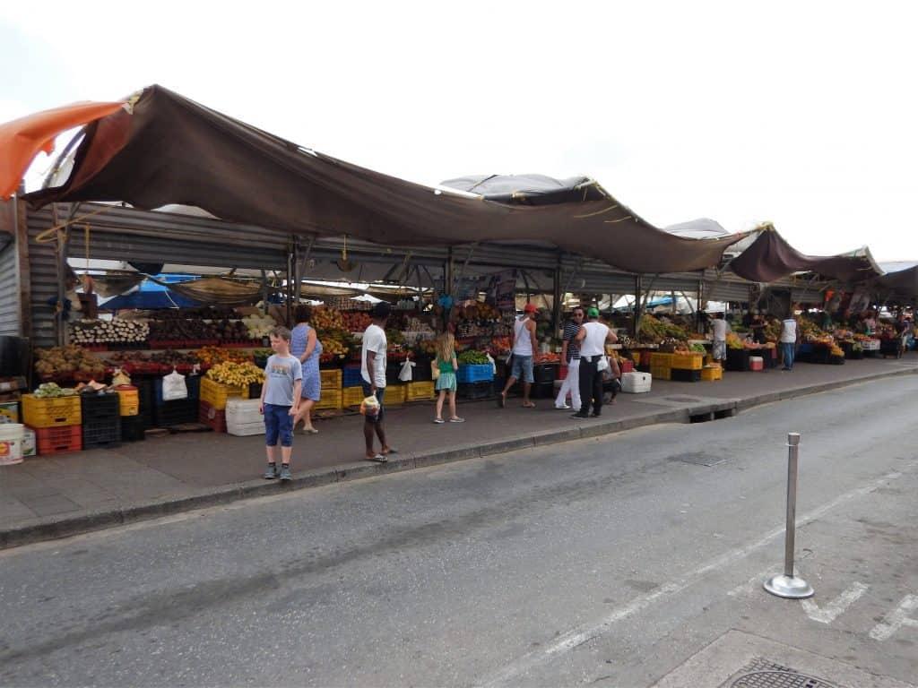 Drijvende markt Curaçao