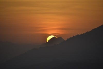 Sunset Salares Spain