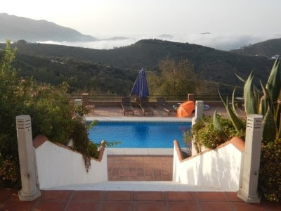 Vakantievilla Los Almendros in Salares Spanje