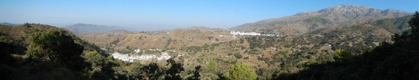 Vakantieverblijf in de oostelijke bergen van Malaga
