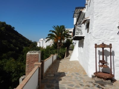 Wandeling Salares - Malaga