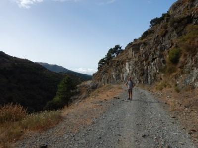 Wandeling naar Canillas de Albaida