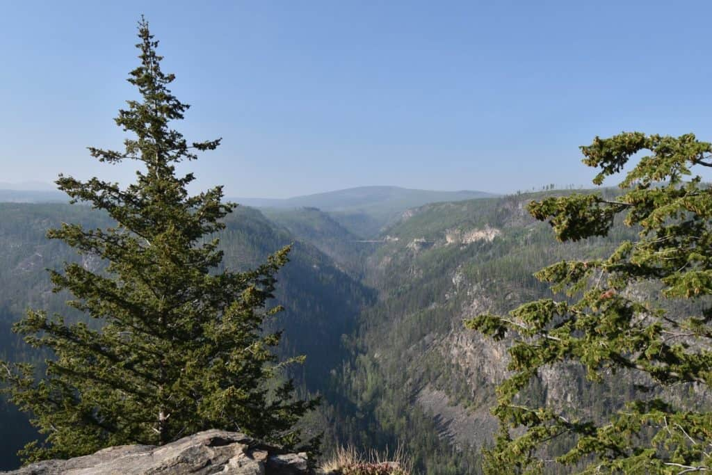 Myra Canyon Bike Trail