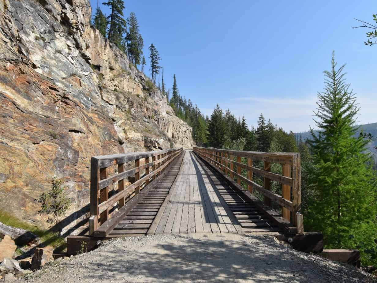 Fietstocht door Myra Canyon – BC