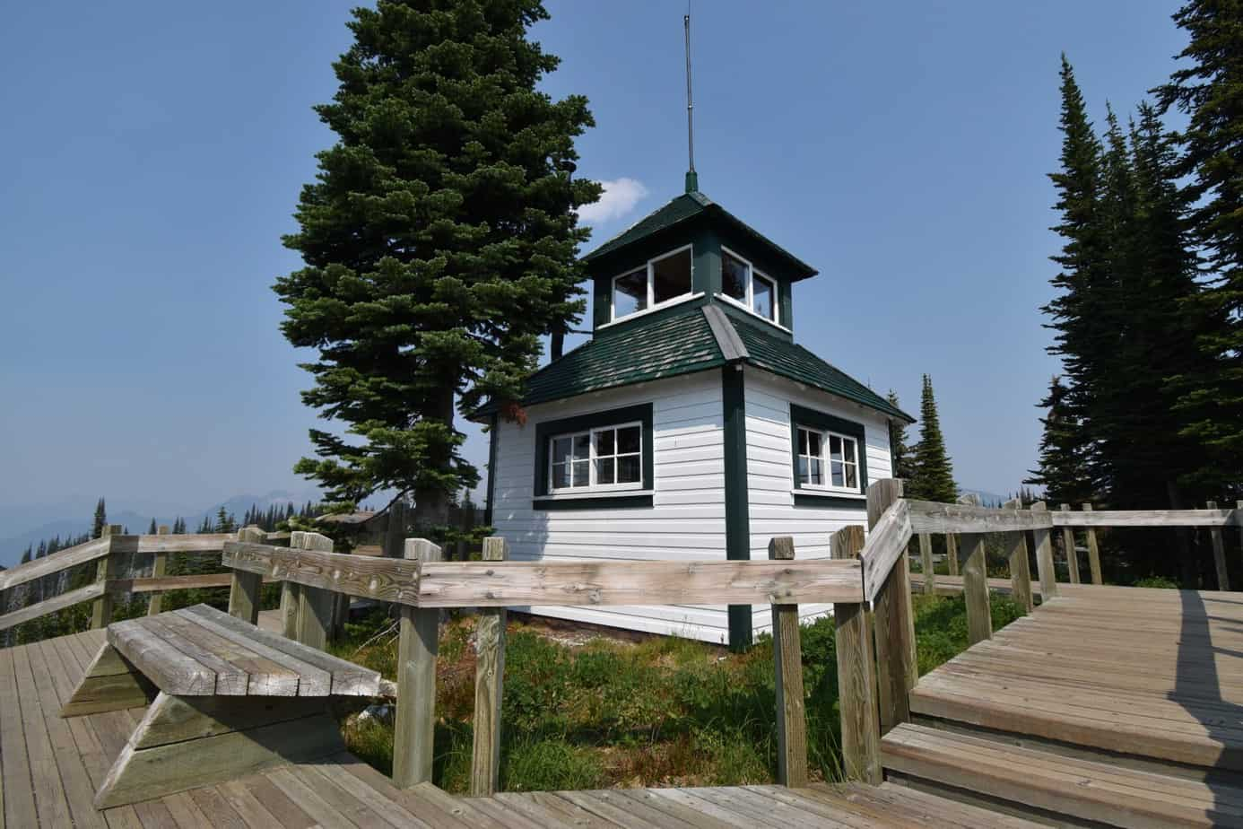 Historic Fire Lookout - Revelstoke National Park