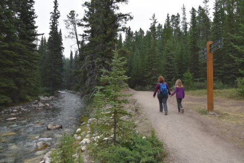 ohnston Canyon - Banff National Park Dag 8 : Rondreis West-Canada & Vancouver Island