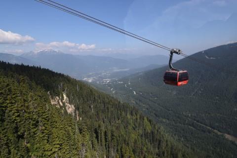 Peak 2 Peak Whistler BC