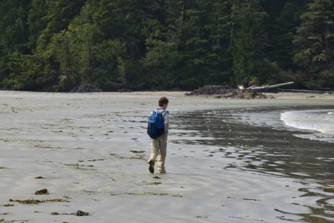 Vargas Island BC - Wandeling
