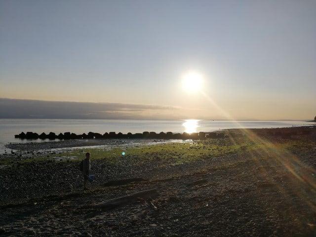 Miracle Beach Sunrise on Vancouver Island- Britsh Columbia