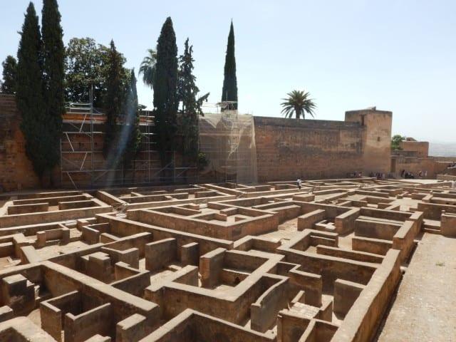 Het Alcazaba - Alhambra Granada
