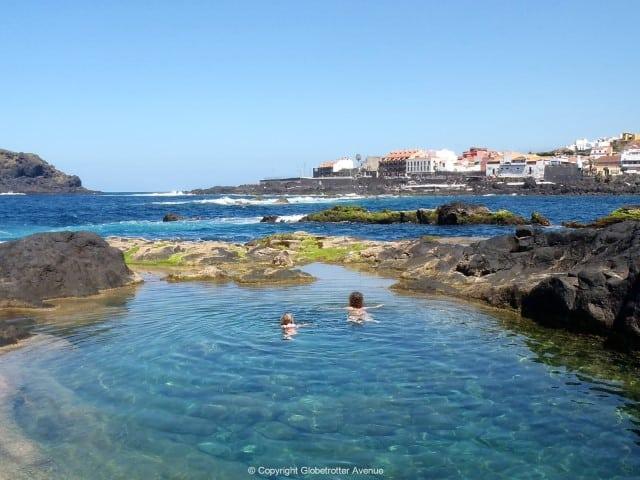 Charco de los Frailes - Garachico - Mooiste stranden Tenerife