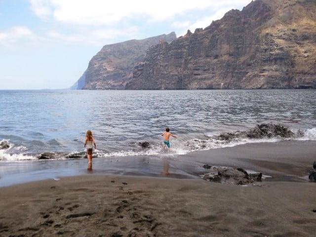Mooiste stranden Tenerife - Playa Los Gigantes - Tenerife