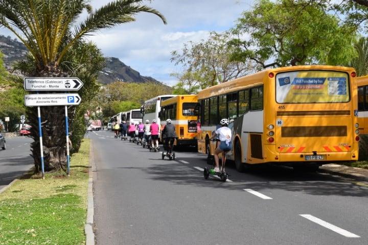 Openbaar vervoer op Madeira