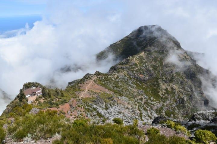 Pico Ruivo - Hoogste berg van Madeira