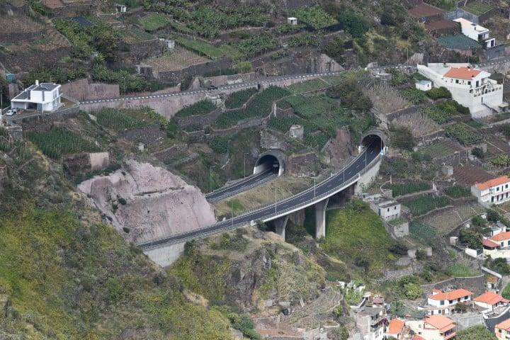 Madeira tunnel