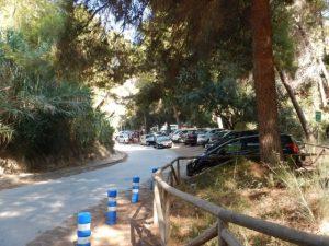Parking Platja del Portitxol - Jávea
