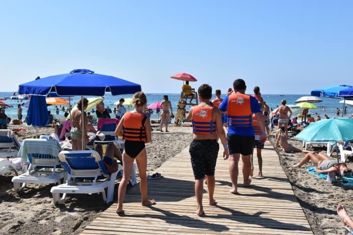 Stranden Moraira - Playa de L'Ampolla