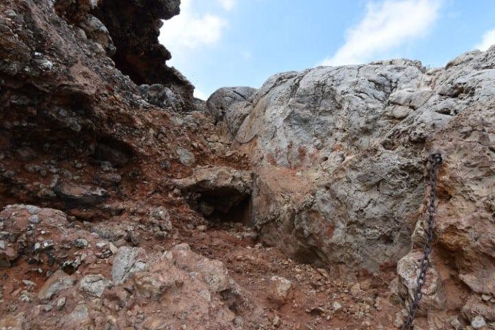 Ingang Cova Tallada