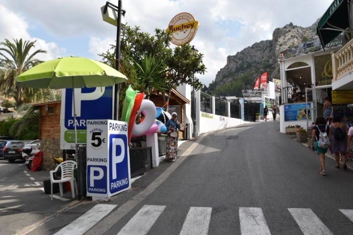 Parking Les Fonts de L'Algar