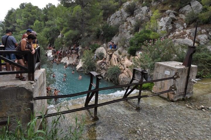 De Algar Watervallen Benidorm