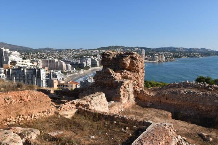 Ruïnes Penyal d'Ifac calpe