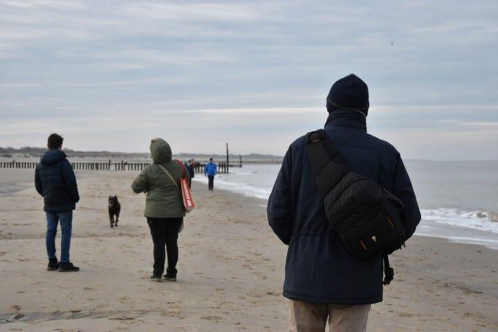 Wandeling Strand van Groede