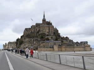 De Mont-Saint-Michel bezoeken in Normandië