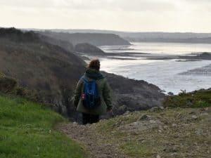 Wandeling langs de kust van Le Port Morvan