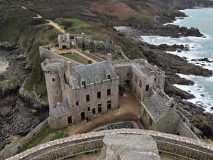 Fort La Latte bezoeken aan de Côte d'Armor