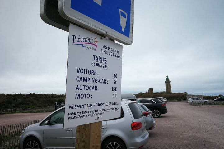 Parking Cap Fréhel