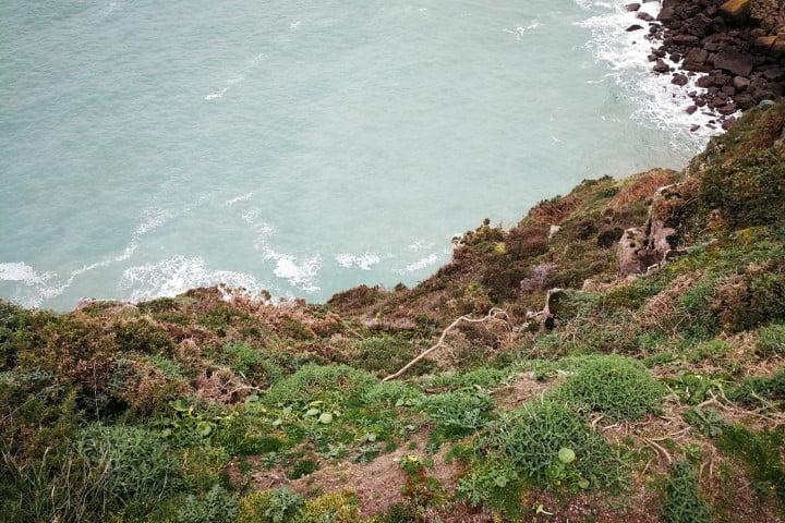 Steile kliffen van Cap Fréhel