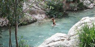 Algar watervallen